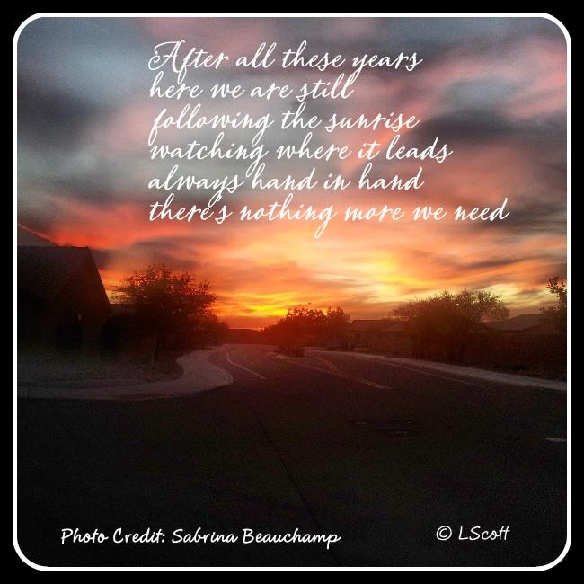 AZ photo Sunrise poem 2013  Final