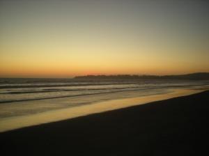 Stinson Sunset Saturday night