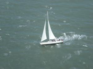 Sailboat tilting