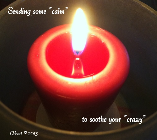 calm candle photo 2013