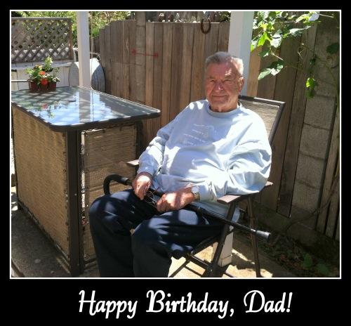 Happy 94th Birthday, Dad