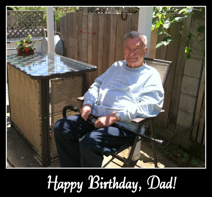 Happy 94th Birthday, Dad