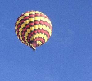 hot air balloon by steph