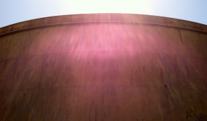 water tank and sun final edit
