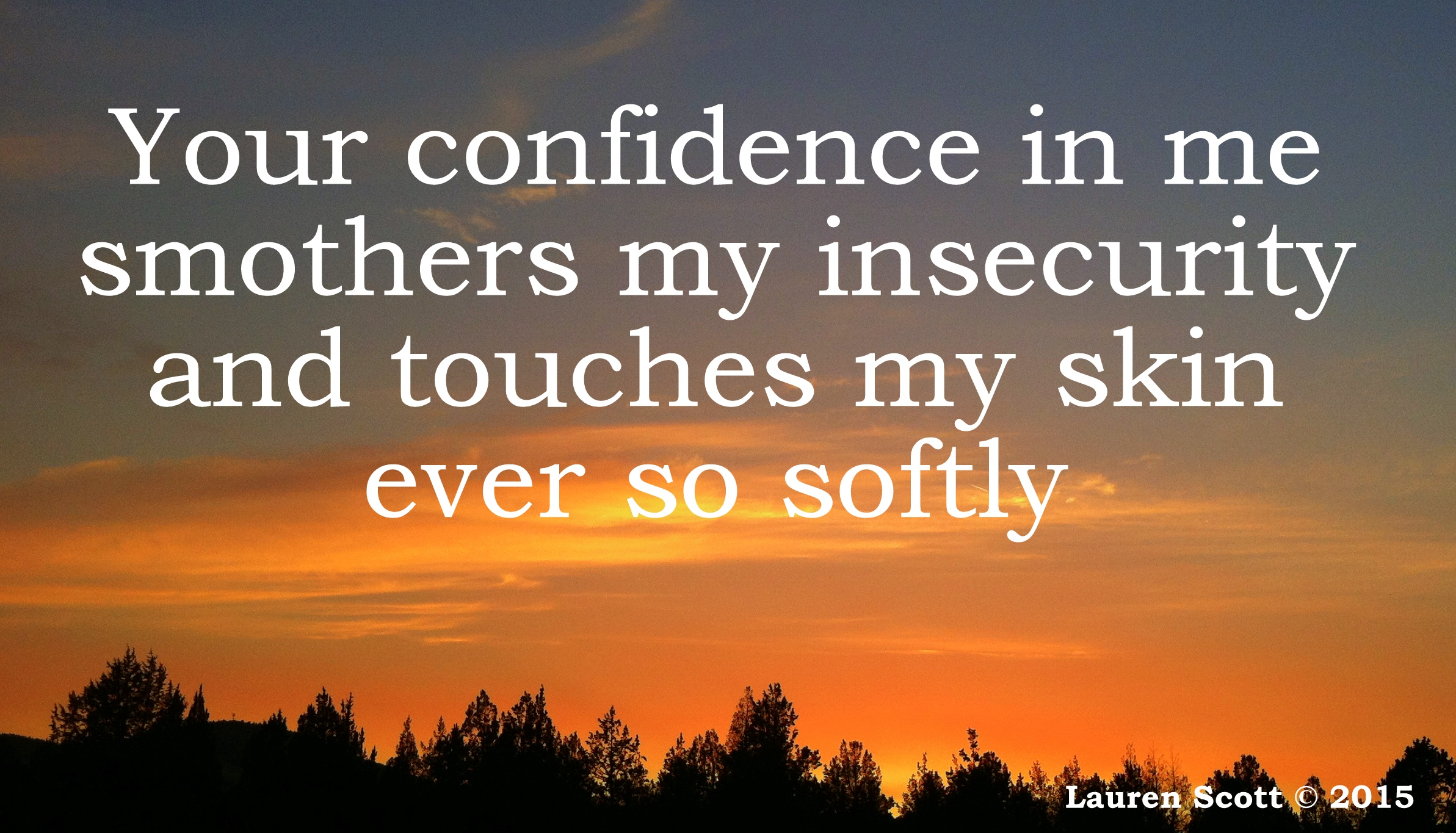 Confidence picassa 2015