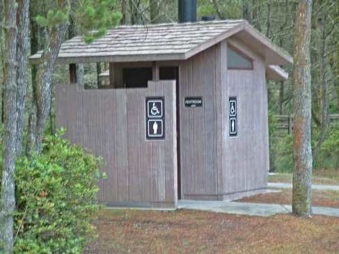 pit toilet