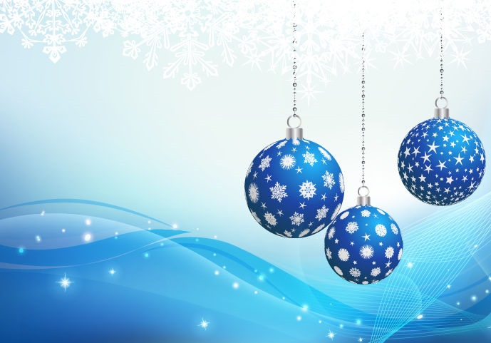 Blue-Christmas-Ornament-Backgound-Vector-Graphic