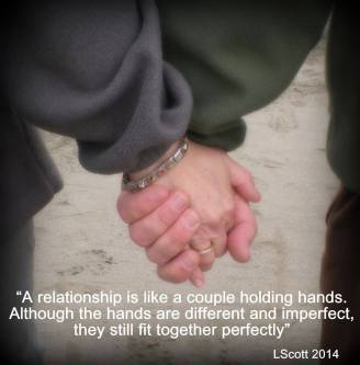 holding hands quote and photo 2014