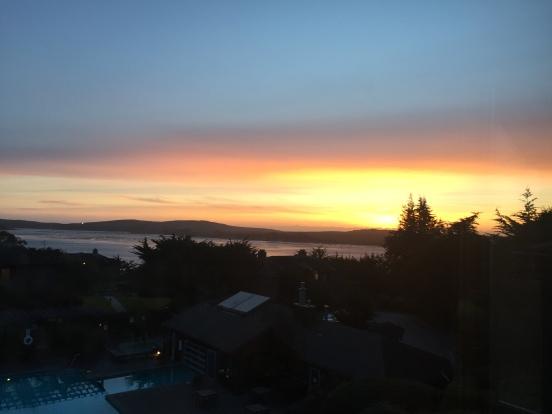 Saturday night sunset (1)