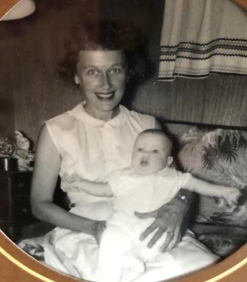 mom and baby lauren